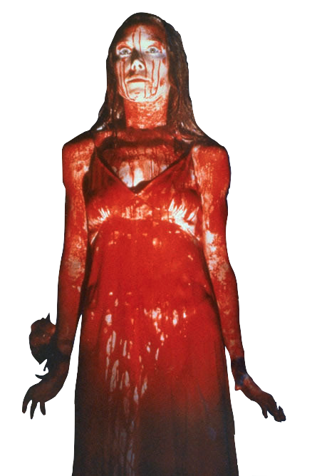 beautifulsinnings:  transparent-like-your-balls:  Carrie (1976 film) transparent my edit   Dark Thoughts , Happy Faces