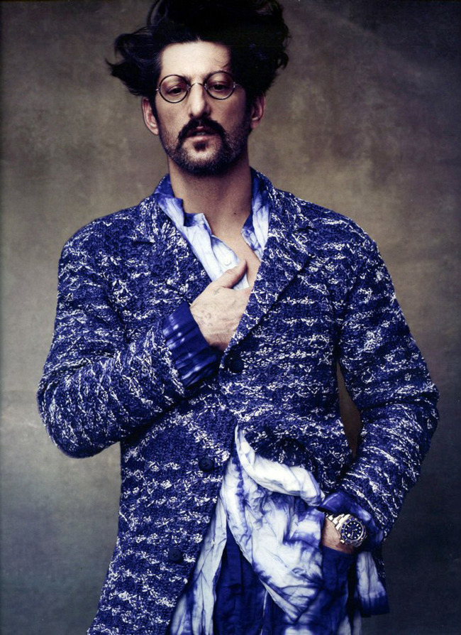 beardmodel:  Promod News Blog - TONY WARD for HOW TO SPEND IT Magazine shot by DAMIAN FOXE