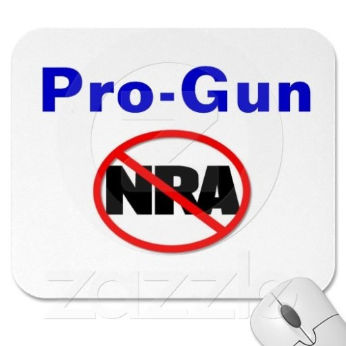 Pro-Gun, Anti-NRA and Anti-Gun Owners Of America.