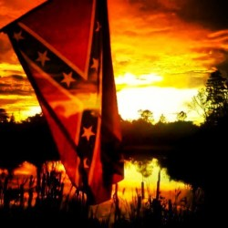 brad203:  #badass #sunset #flag