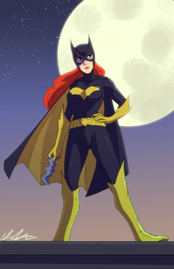 calvinatthegym:  The last one of this little shindig. Batgirl! tried to make This one special :)