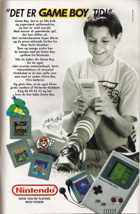 Game Boy advert.