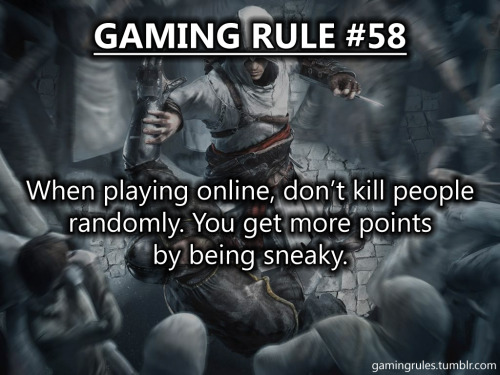 TOP 10 WORST GAMING RULES OF ALL TIME (by notes) Gaming Rule #127 Gaming Rule #42 Gaming Rule #28 Gaming Rule #139 Gaming Rule #92 Gaming Rule #137 Gaming Rule #50 Gaming Rule #36 Gaming Rule #58 Gaming Rule #44