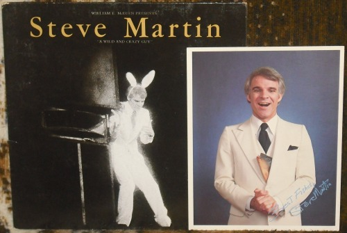 "Steve Martin - ""A Wild And Crazy Guy"".    This is the first record I ever bought."