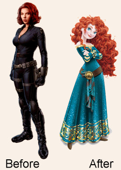 Disney have just released images of the Black Widow's redesign for the next Avengers movie