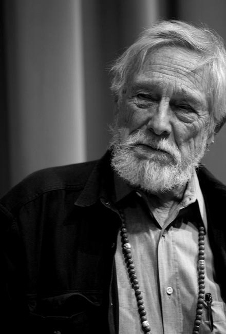 ismylastbreath:  Happy 83rd Birthday, Gary! ♥ [Gary Snyder at Poets House in New York (by Lawrence Schwartzwald) - 12.11.10] There Are Those Who Love To Get Dirty There are those who love to get dirtyand fix things.They drink coffee at dawn,beer after work,And those who stay clean,just appreciate things,At breakfast they have milkand juice at night.There are those who do both,they drink tea.  i love you i love you i love you!!!!!