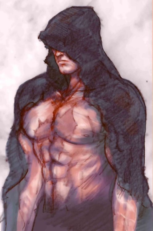 hooded kazuya colour by *justinartist01
