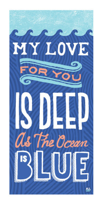 Love Quote Typography