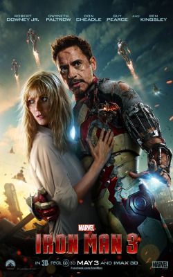 marvelentertainment:  Suit up, Iron Man fans! Tickets are now available for Marvel's Iron Man 3 from Fandango! Get yours today!