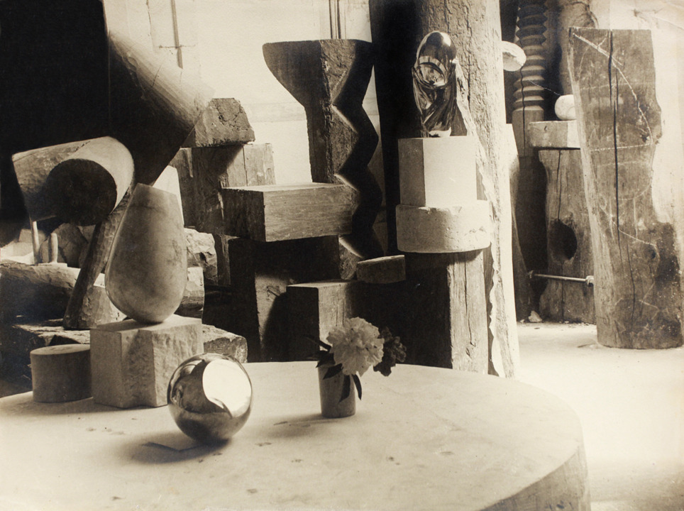 Bird in Space Constantin Brancusi 1936  View of the Studio: Mademoiselle Pogany II with Flower Constantin Brancusi 1923