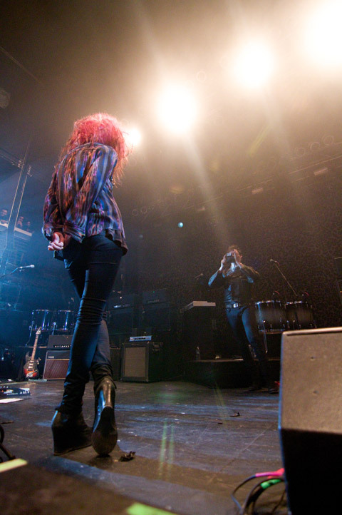 gotmysugarbaby:  The kills, 10th anniversary nyc