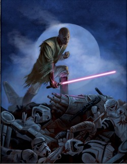 darthtrafford:  The Return Of Mace Windu! What if Master Windu Survived?