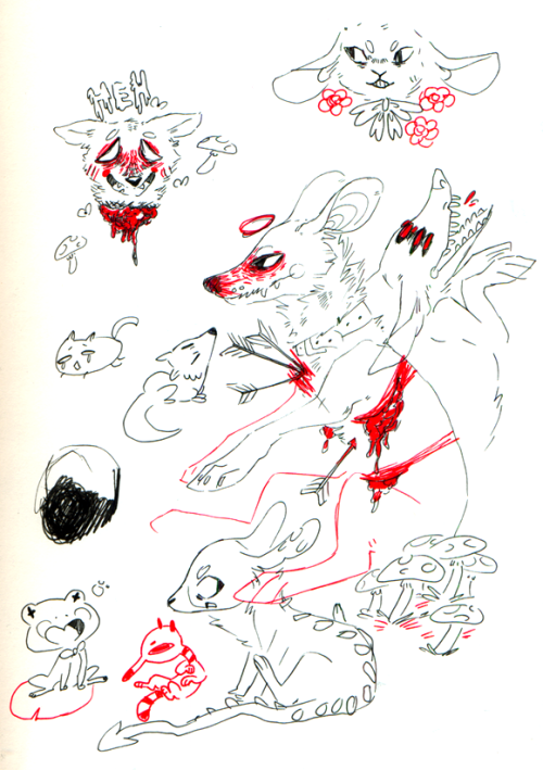 kringler:  bad scan bad doodles