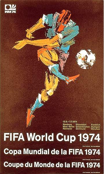 Official World Cup posters from 1930 to 2014