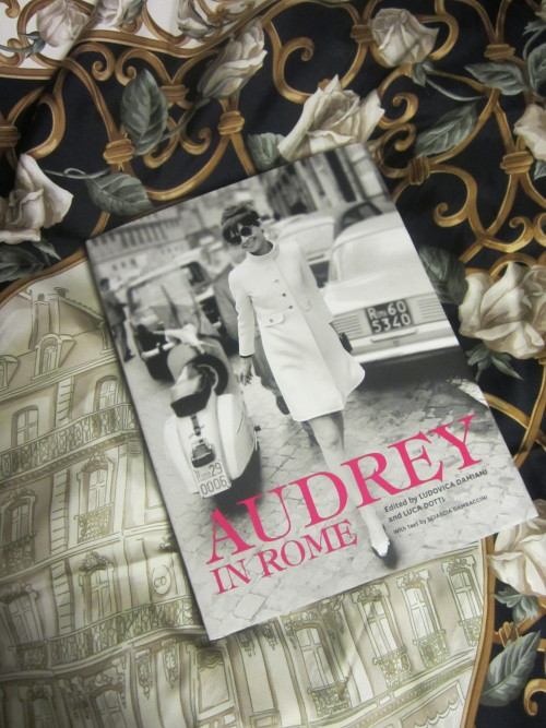 allthedaysordained:  My pre-ordered copy of 'Audrey in Rome' just arrived in the post! Such a beautiful book!