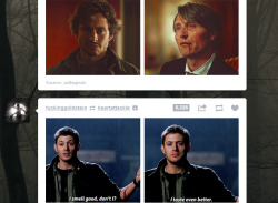 vodkapirate:  geekiswhatiaimfor:  DEAN NO  OMG I AM DONE.  I think I just stamped my own ticket for hell when I saw this!