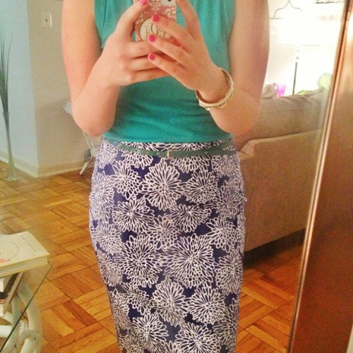 dcgirlinpearls:  May flowers | #ootd #wiwt #instafashion #style #workwear