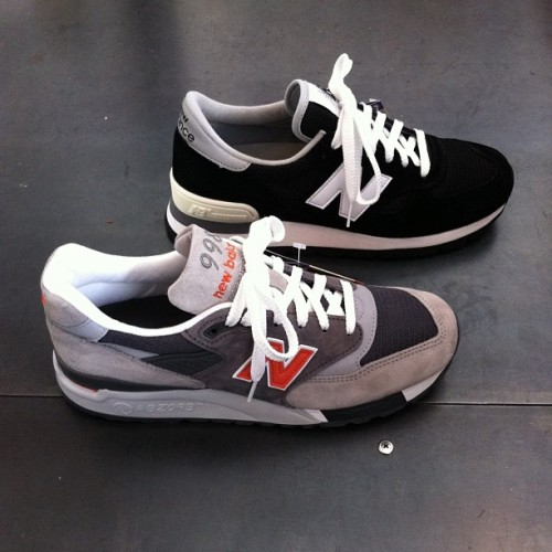New Balance SS13 just in. #NewBalance #madeinUSA (at Four Horsemen Shop)