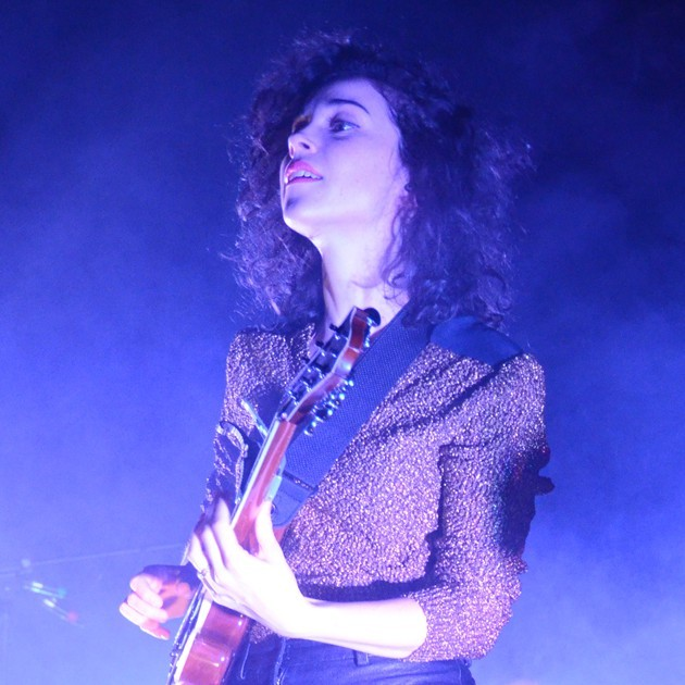 thelemongrove:  Annie Clark, St. Vincent Photographed by Marie-Pier Gagnon Nadeau  I had to take a double look at he photographers name lmao. it would be the day day amirite.