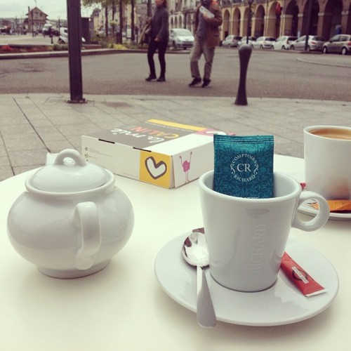 #morning #coast #coffee #tea #cafe  (at Port de Dieppe)