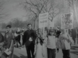 Protesting as an 6 year old. because that is how i roll.