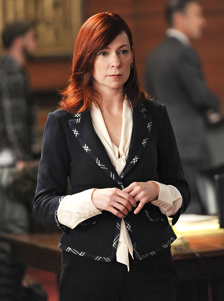 "Yes, yes, a thousand times yes.  Carrie Preston, The Good Wife. No show casts guest stars quite like the CBS legal drama. Fellow Wife guest Martha Plimpton won last year, and Preston's brilliant take as the quirky redheaded lawyer Elsbeth Tascioni deserves recognition too. She flawlessly balances Elsbeth's genius with her crazy, giving Wife some of its best one-liners (""I don't know how I know half the things I know!"") and scene-stealing moments.  [Emmys: 15 Actresses We're Rooting For 