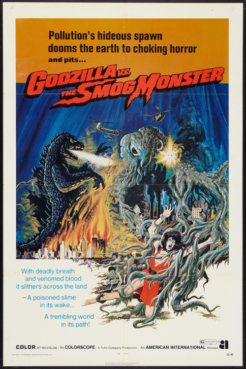 theterrorinthenight:  Godzilla vs Hedorah (1971)