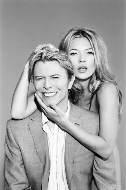 zeitgeist-vogue:  Kate Moss and David Bowie
