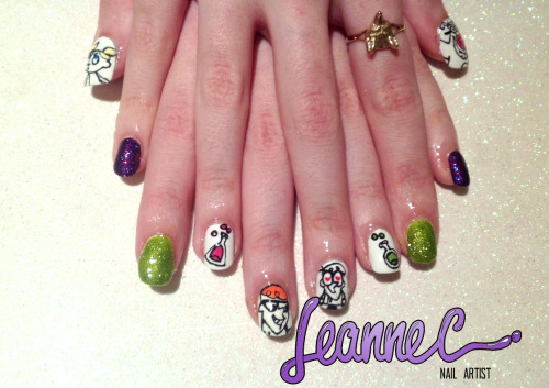 leannecnails:  Dexter's laboratory!