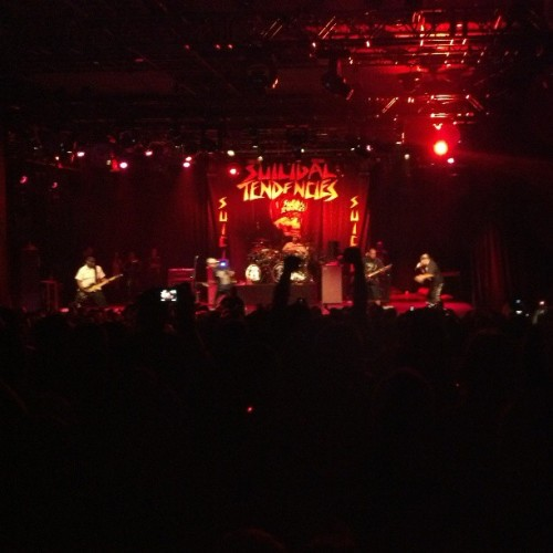 Suicidal Tendencies … … . This is happening (at Best Buy Theater)