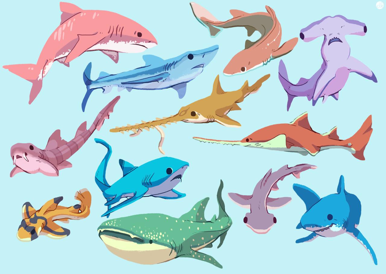 danipanteez:it's shark week yo.that's some beautiful ass drawing