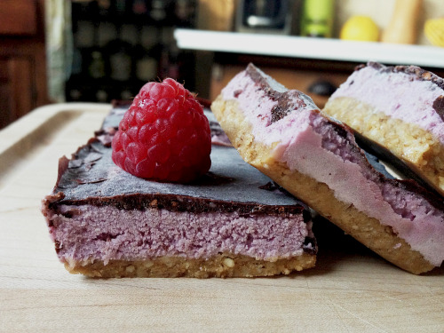 findvegan:  Raw peanut butter and jelly ice cream bars!    Need to make.