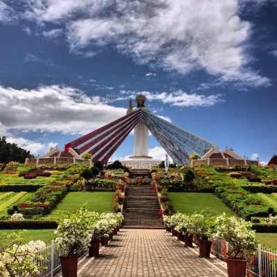 The Divine Mercy Shrine in El Salvador City, Misamis Oriental