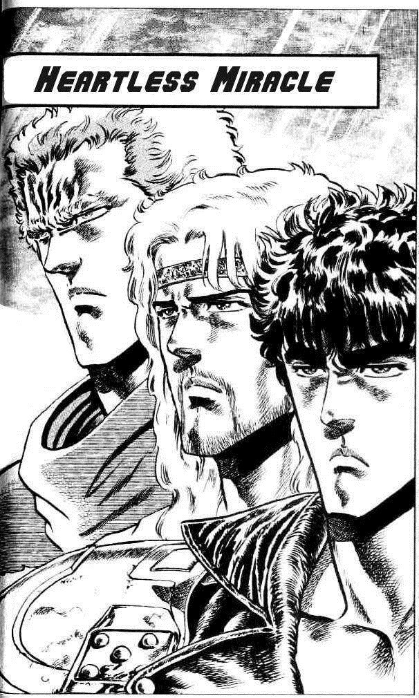Raoh, Toki and Kenshiro