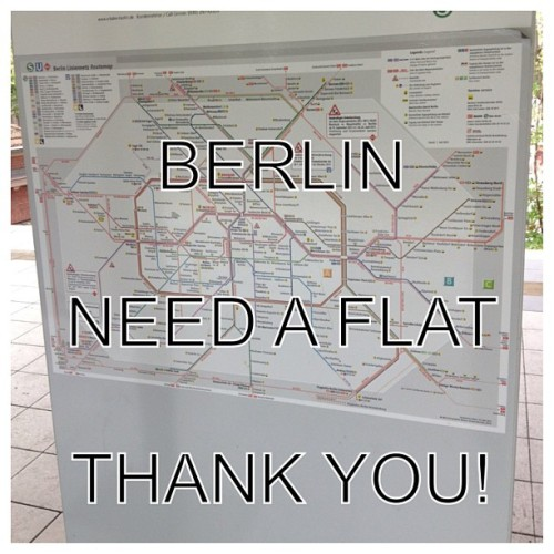 #berlin anyone have a sublet or room for rent? Thank you  (at Skatehalle Berlin)
