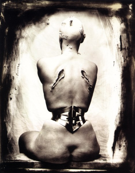 cavetocanvas:  Joel-Peter Witkin, Woman Once a Bird, Los Angeles, 1990