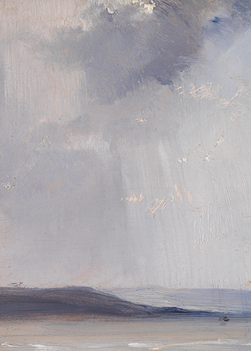 Richard Parkes Bonington, La Ferté (detail), about 1825 (x)