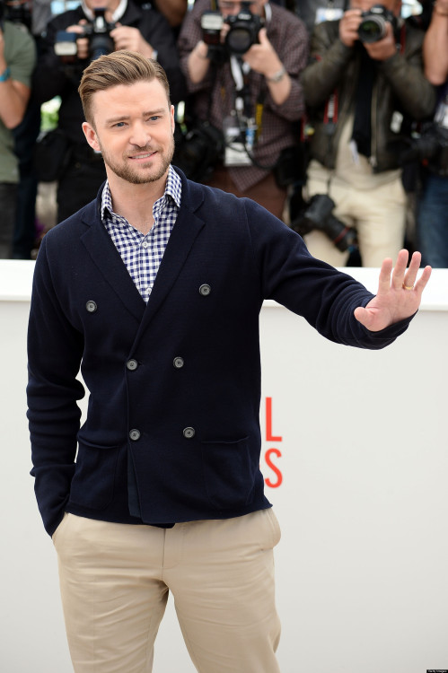 Justin Timberlake at the Cannes Film Festival
