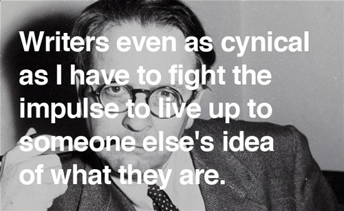 Raymond Chandler on writing, with an admonition to define your own success and not fall for prestige alone.