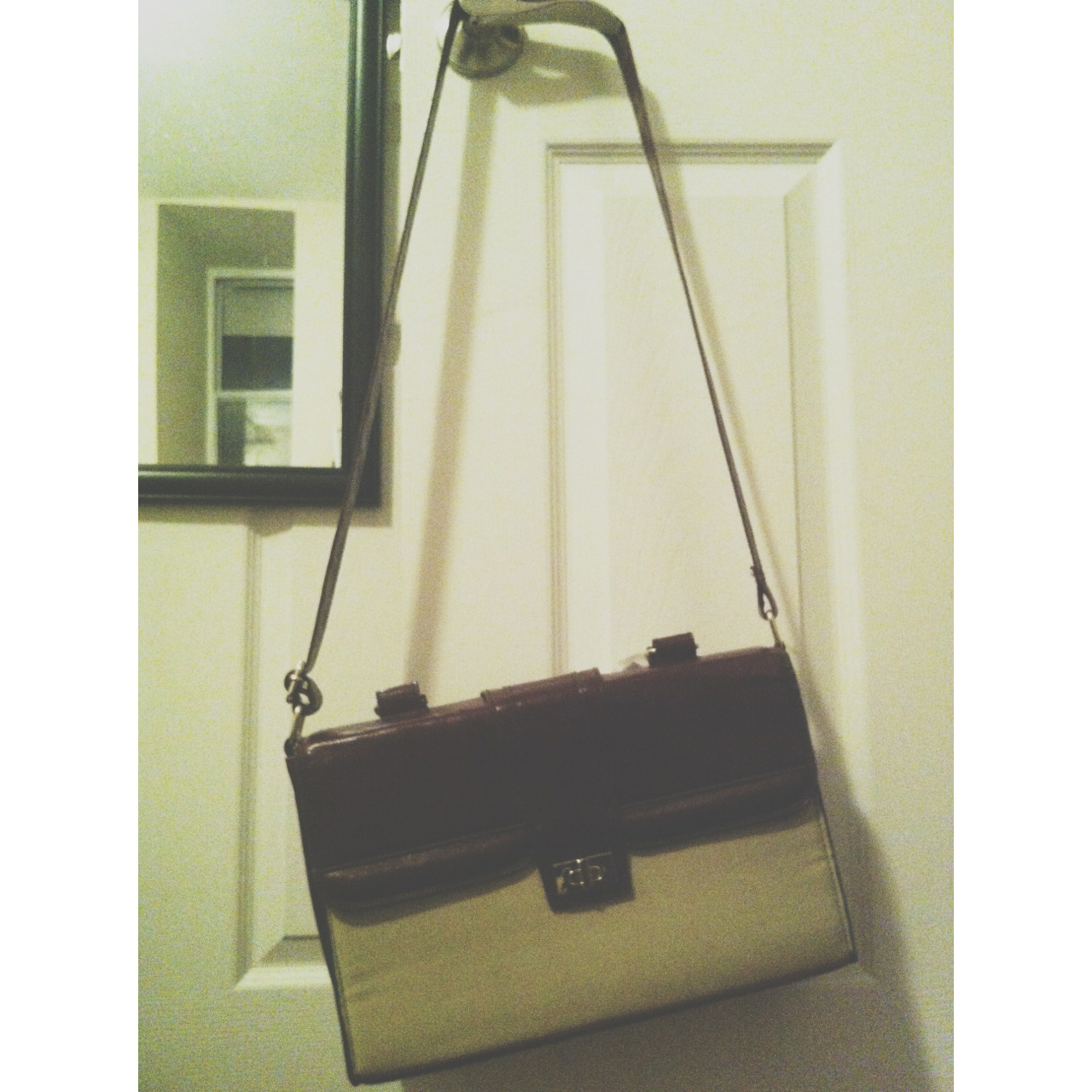 This was the biggest steal today. A $70 Topshop bag marked down to $48, marked down again to $32, and then marked down once more with a student card for a grand total of $19!!!!