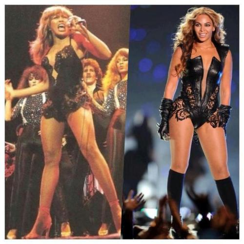 The original Queen … and Queen Bey !