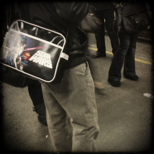 Starwars bag. Padawan are everywhere.