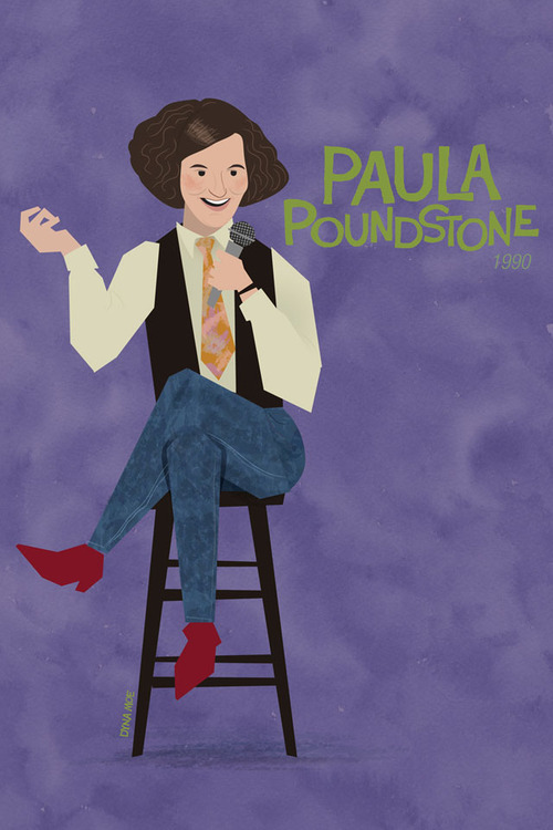 Paula Poundstone by Dyna Moe (via SplitSider)