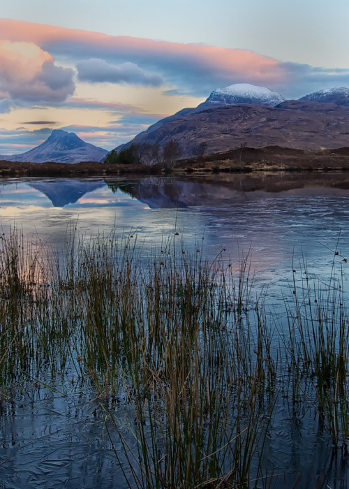 aesthecia:  Looking towards Stac Pollaidh (by dscott14)