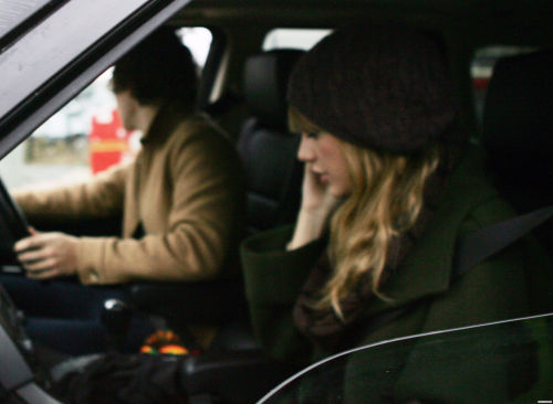 December 14th - Harry Styles Drives Taylor Swift To Manchester Airport