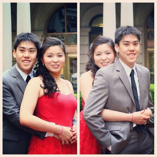 05182013 Pre-#Senior Ball // Who Hugged Better? haha :)  (at Milbank Hall - Barnard)