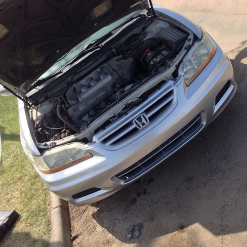 #honda #accord #v6 Auto Body from Start to Finish