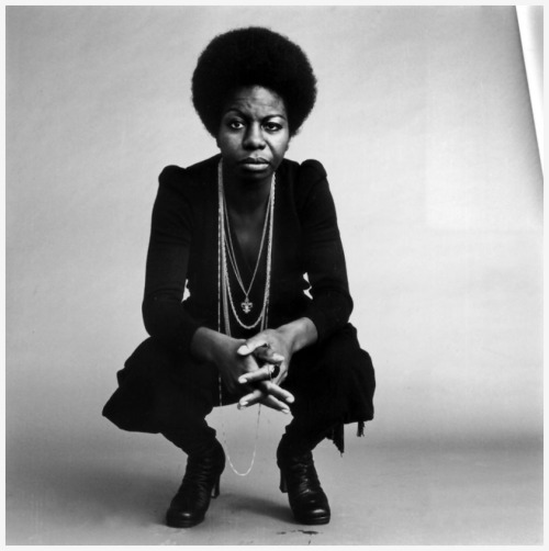 "rookiemag:  A piece on the radicalization of Nina Simone — Jessica H.  Remembering Nina Simone as a Siren and Powerful Civil Rights Activist- Yasha Wallin wrote in Politics, Music and Creativity  …using music as a soap box wasn't an easy choice, as she once wrote, ""Nightclubs were dirty, making records was dirty, popular music was dirty and to mix all that with politics seemed senseless and demeaning. And until songs like 'Mississippi Goddam' just burst out of me, I had musical problems as well. How can you take the memory of a man like [Civil Rights activist] Medgar Evers and reduce all that he was to three and a half minutes and a simple tune? That was the musical side of it I shied away from; I didn't like 'protest music' because a lot of it was so simple and unimaginative it stripped the dignity away from the people it was trying to celebrate. But the Alabama church bombing and the murder of Medgar Evers stopped that argument and with 'Mississippi Goddam,' I realized there was no turning back.""  Continue reading on good.is"