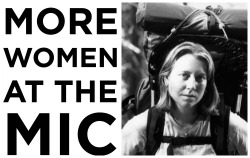 more-women-at-the-mic:  MORE WOMEN AT THE MIC: cheryl strayed