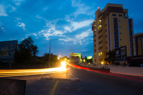 Light Trails: Polo Heights Accra, Ghana